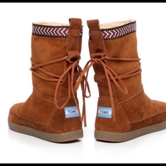 Toms Shoes - Toms Nepal Tie Around Boots